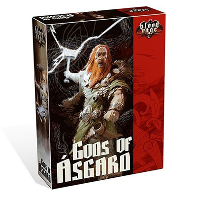 Blood Rage Gods of Asgard - Cover