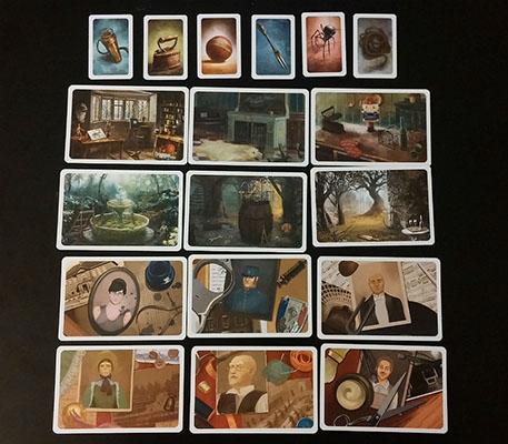 Mysterium – Cards