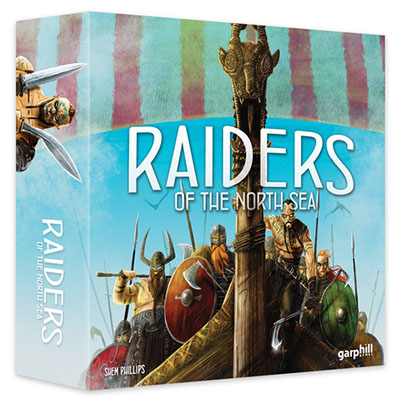 Raiders of the North Sea - Cover