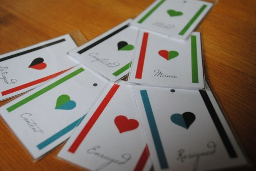…And then we held hands – Cards