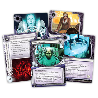 Android Netrunner – Creation and Control – Cards