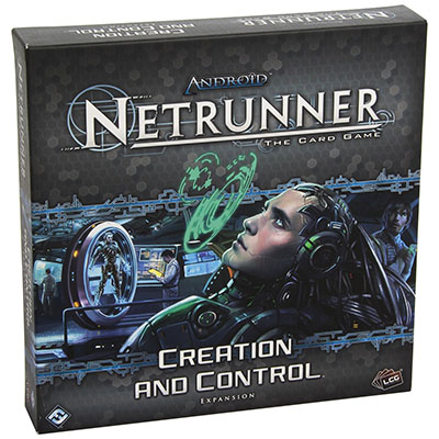 Android Netrunner – Creation and Control – Cover