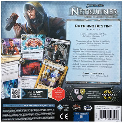 Android Netrunner – Data and Destiny – Back