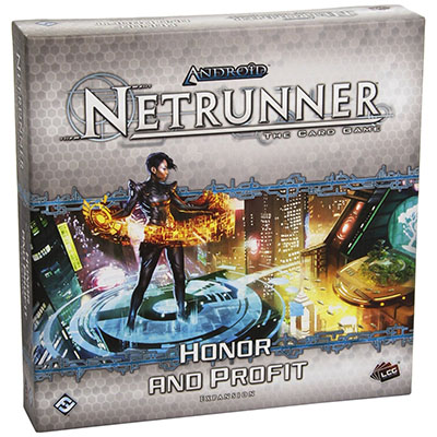 Android Netrunner – Honor and Profit - Cover