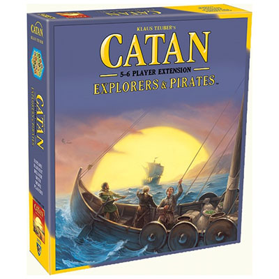 Catan Explorers and Pirates 5-6 Players – Cover