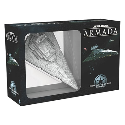 Star Wars Armada Imperial Class Star Destroyer - Cover