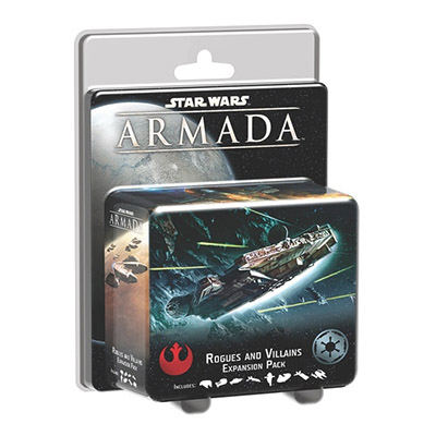 Star Wars Armada Rogues and Villains - Cover