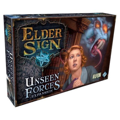 Elder Sign Unseen Forces - Cover