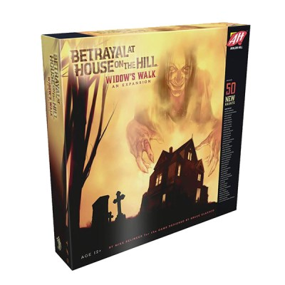 Betrayal at House on the Hill Widow Walk - Cover