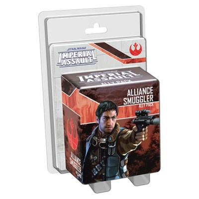 Star Wars Imperial Assault – Alliance Smuggler Ally Pack - Cover