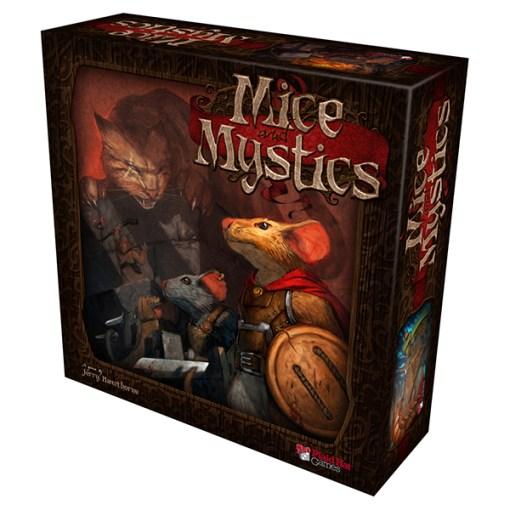 Mice and Mystics - Cover