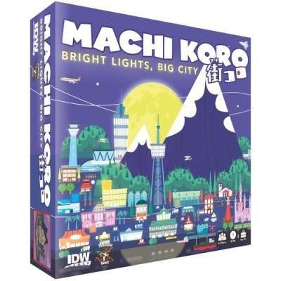 Machi Koro Bright Lights, Big City - Cover