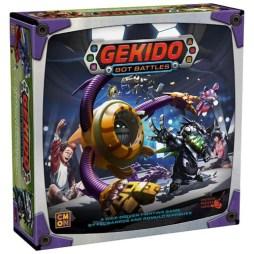 Gekido Bot Battles - Cover