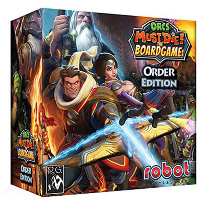 Orcs Must Die! The Boardgame Order Edition  - Cover
