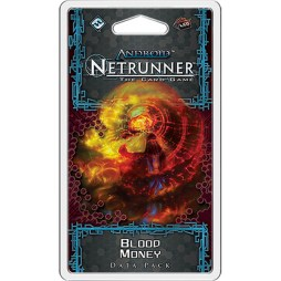 Android Netrunner – Blood Money - Cover