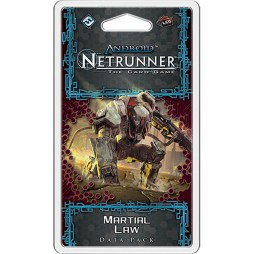 Android Netrunner – Martial Law - Cover