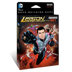 DC Comics Deck-Building Game Crossover Pack 3 Legion of Super-Heroes - Cover
