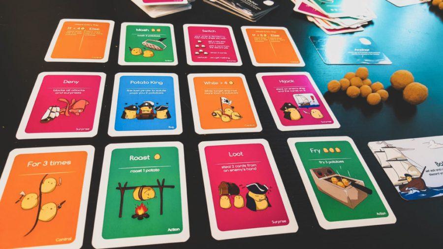 Potato Pirates - Cards