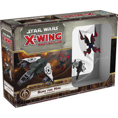 Star Wars X-Wing – Guns for Hire Expansion Pack – Cover