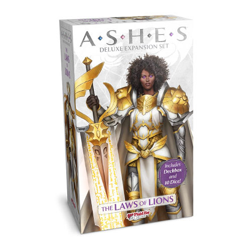 Ashes The Laws of Lions Deluxe Expansion – Cover