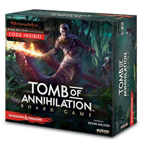 Dungeons & Dragons Tomb of Annihilation Board Game (Premium Edition) – Cover