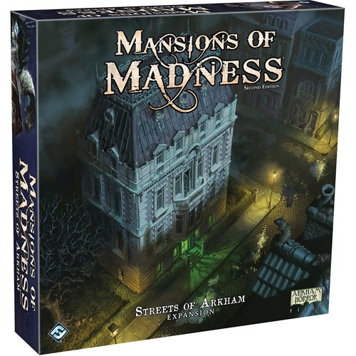 Mansions of Madness (2nd Edition) Streets of Arkham Expansion – Cover