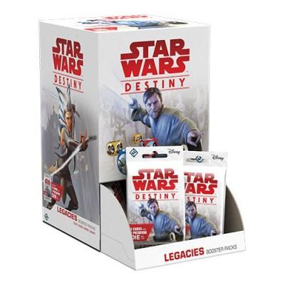 Star Wars Destiny Legacies – Booster Display Box – Cover