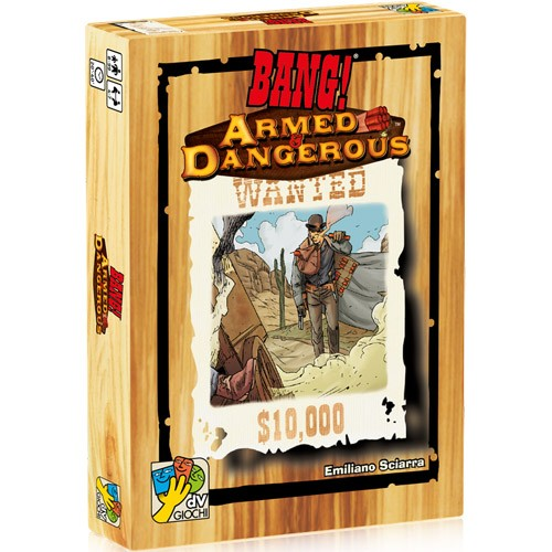 Bang! Armed & Dangerous Expansion – Cover