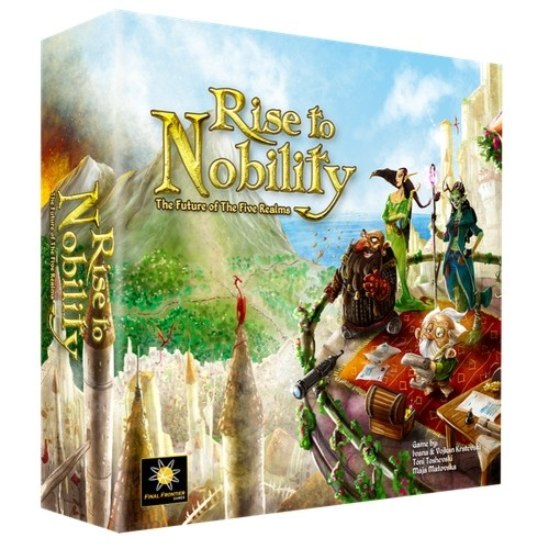 Rise to Nobility – Cover