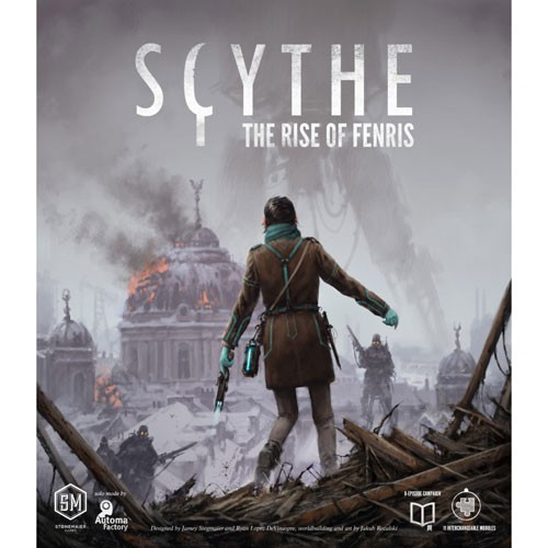 Scythe The Rise of Fenris – Cover