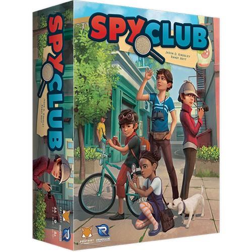 Spy Club – Cover