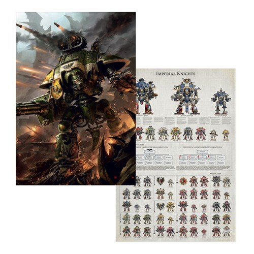 White Dwarf June 2018 – Imperial Knights Poster