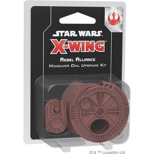 Star Wars X-Wing (2nd Edition) Rebel Alliance Maneuver Dial Upgrade Kit – Cover