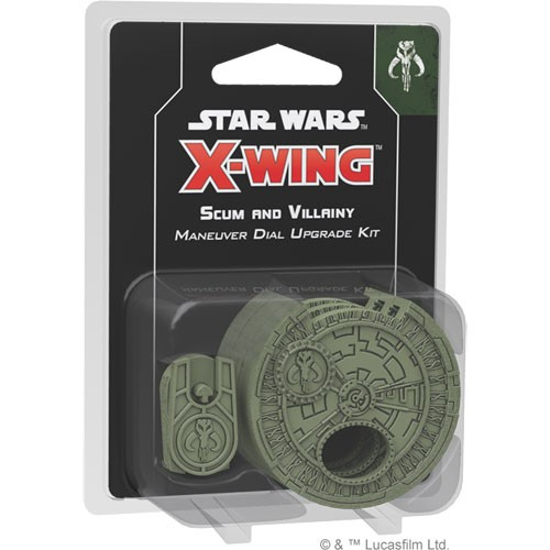 Star Wars X-Wing (2nd Edition) Scum & Villainy Maneuver Dial Upgrade Kit – Cover