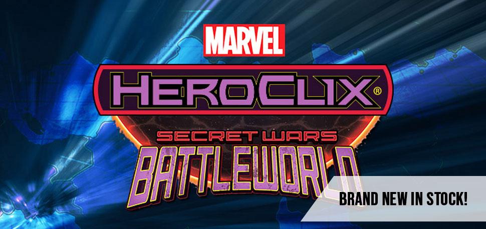 Heroclix - Secret Wars Battleworld Banner 1.0