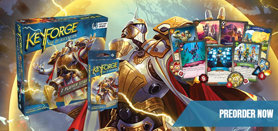 Keyforge Banner Age of Ascension