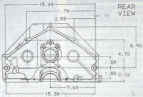 Buick Automatic Transmission Bell housing Identification