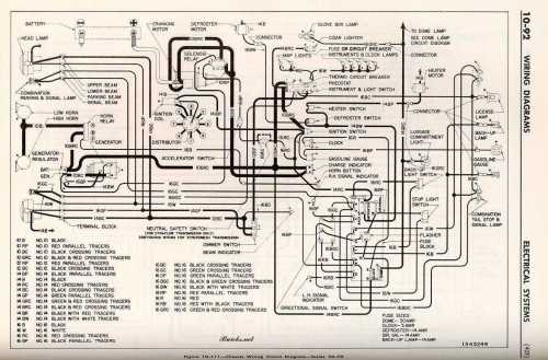 small resolution of 1952 buick chassis wiring circuit diagram series 50 70