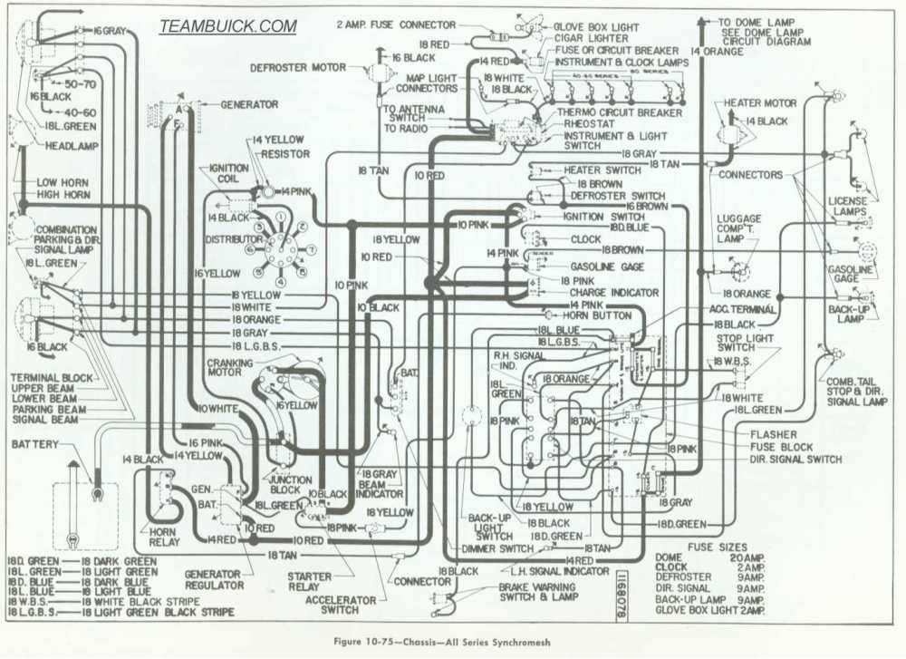 medium resolution of 1955 buick wiring manual e book 1955 buick special wiring diagram