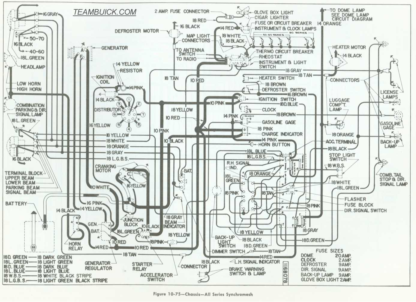 hight resolution of 1955 buick wiring manual e book 1955 buick special wiring diagram