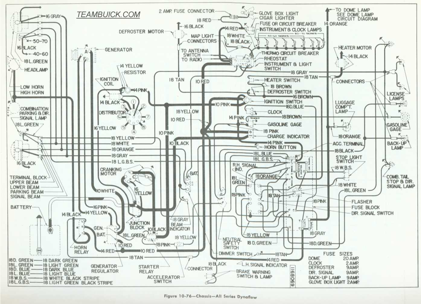 1955 buick wiring diagram today diagram database  1955 buick wiring diagram #7