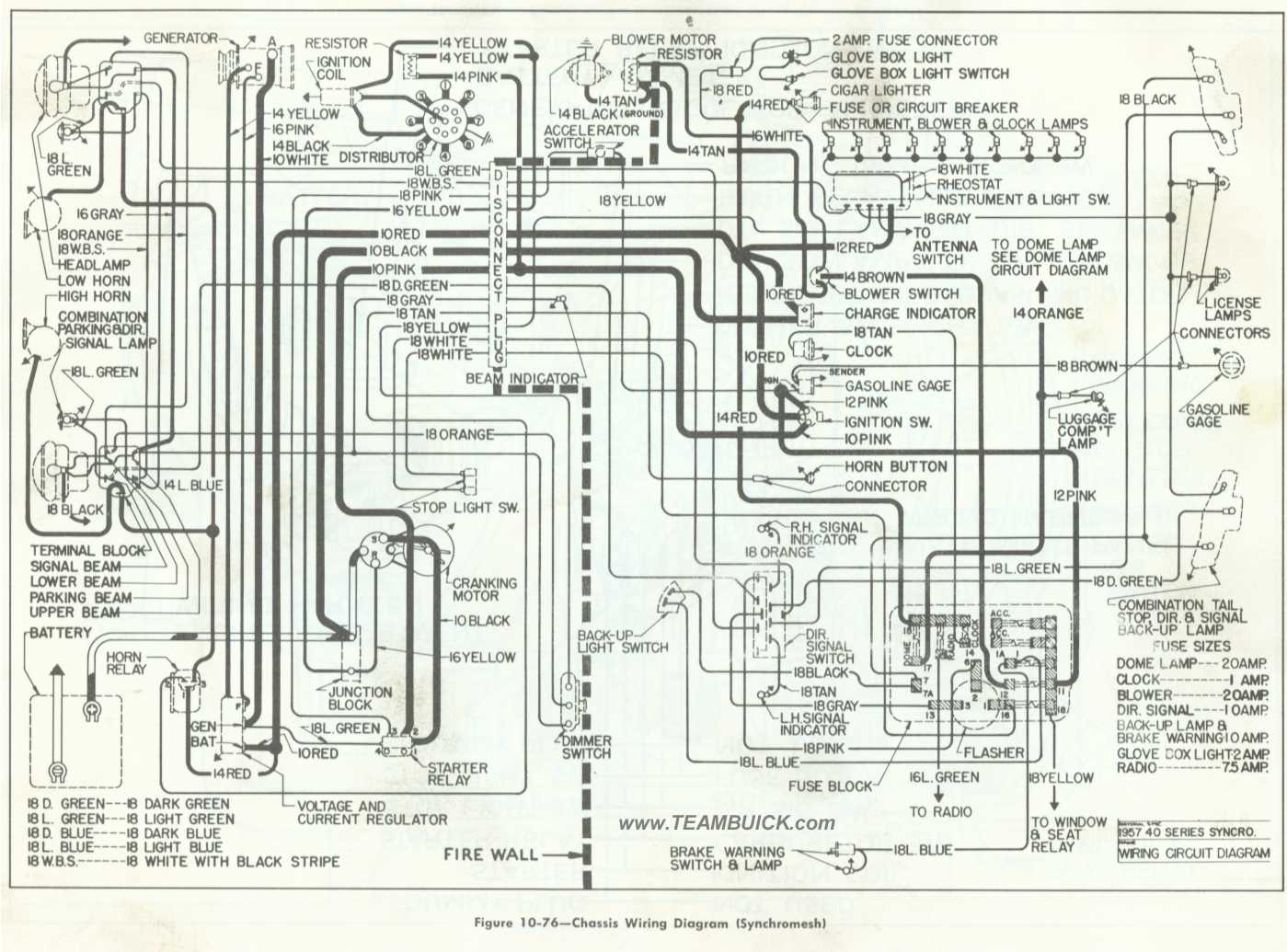 hight resolution of 1957 buick chassis wiring diagram synchromesh rh teambuick com ford f53 chassis wiring diagram ford f53