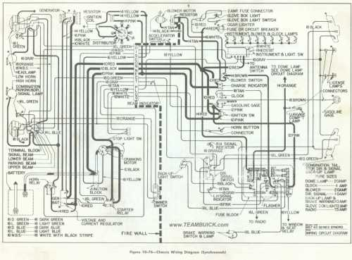 small resolution of 1957 buick chassis wiring diagram synchromesh rh teambuick com ford f53 chassis wiring diagram ford f53