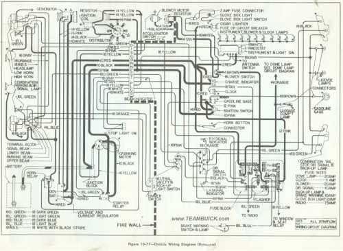small resolution of chassis wiring diagram dynaflow 1957 buick