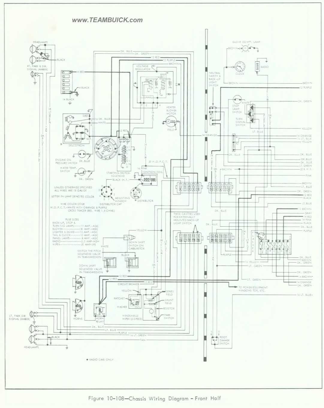 1964 skylark wiring diagram