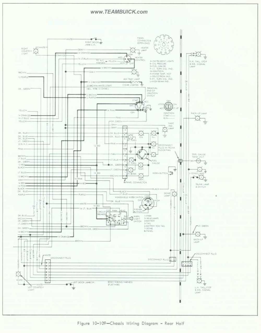 medium resolution of 1964 buick special skylark wiring diagram rear half