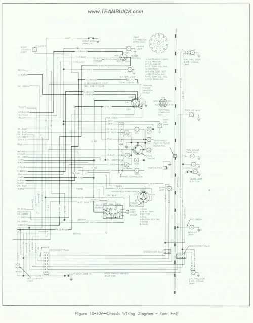 small resolution of 1964 buick special skylark wiring diagram rear half