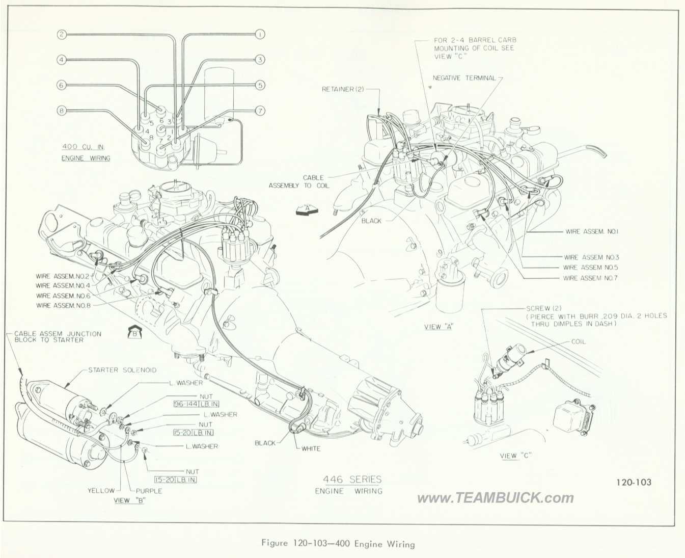 1966 Buick 400 Engine Wiring