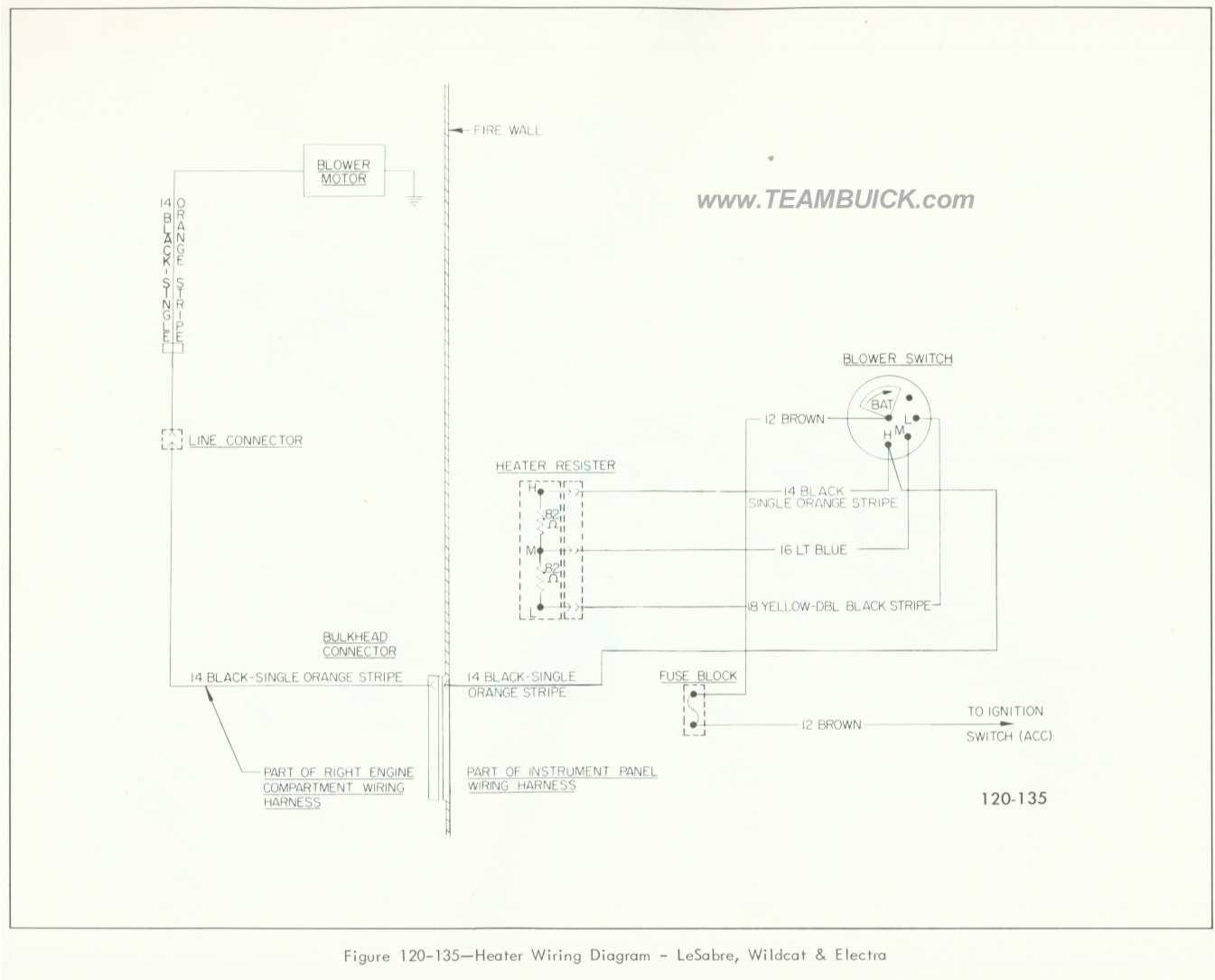 hight resolution of 1966 buick lesabre wildcat electra heater wiring diagram