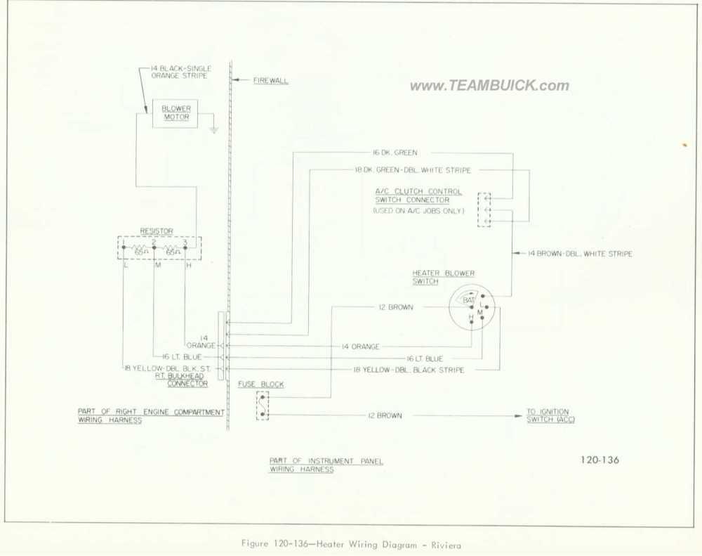 medium resolution of 1966 buick riviera heater wiring diagram
